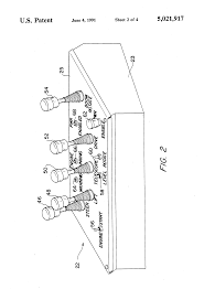 patent us5021917 control panel power enabling and disabling patent drawing