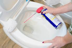 clean your toilet with wd 40