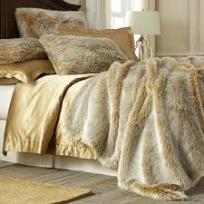 faux fur duvet cover king size were not sure where the line between luxury and pure decadence is but its probably covered