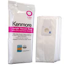 kenmore vacuum bags. amazon.com - kenmore type o hepa vacuum bags for upright vacuums, 6 pk media filtration synthetic s