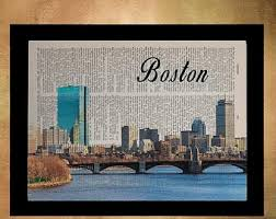 boston decor etsy