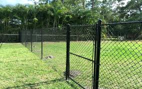 chain link fence post. Black Chain Link Fence 6 Ft Vinyl With Walk Gate . Post