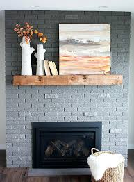 marvellous grey brick fireplace brick fireplace makeover amazing transformation love the new gray paint color red