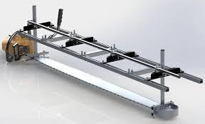 mk iv alaskan sawmill with 72 rails