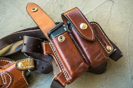 andrews leather monarch shoulder rig and holster review