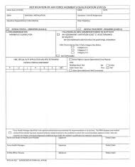 U S Air Force Forms Pdf Templates Download Fill And Print