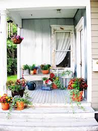 Easy Patio Decorating 25 Budget Ideas For Small Outdoor Spaces Hgtv