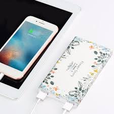 HOCO Dual USB MAH External Power Bank Battery backup Beautiful Floral Printed Battery Charger for Smartphones 640x640
