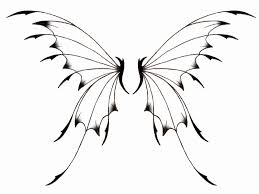 Fairy Wings Coloring Pages Fairy Wings Template Printable How To