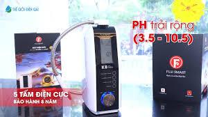Máy điện giải Fuji Smart K8 Slim   Hướng dẫn sử dụng chi tiết máy lọc nước  ion kiềm thông minh - YouTube