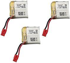 Fytoo <b>5PCS 3.7V</b> 380mah <b>Lithium</b> Battery with 5 in 1 Balance ...