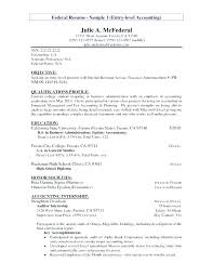 Accounting Objective Resume Customer Service Objective Resume Good