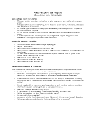 Gallery Of 5 First Job Resume Template Financial Statement Form