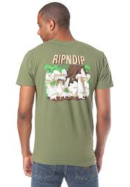 Rip N Dip Nerm Forrest T Shirt For Men Green Planet Sports