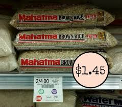mahatma brown rice. Exellent Brown You Can Pick Up Mahatma Brown Rice 2 Pound Bags For A Nice Price At Publix  With The Sale And Coupon Combo You Pay Just 145 Per Bag 73 Pound Grab  In O