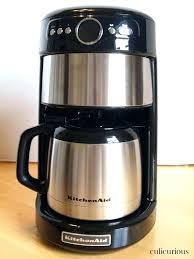 kitchenaid coffee maker manual u2016 petercowlamkitchenaid coffee maker manual kcm1202ob 12 cup glass carafe