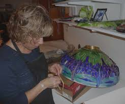 in 1986 after graduating from college with a b s in electrical engineering in massachusetts linda ehlers took up the art of stained glass as a hobby to