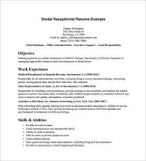 Spa Receptionist Resume Cool Spa Receptionist Resume Great Resume For A Receptionist Resume