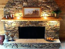 smlf faux dry stack stone fireplace fake electric remodel creative panels