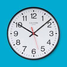 large wall clock quantum 6206 e a