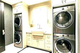 washer and dryer in closet cabinet cabinets stacking sets typical dimensions drye washer dryer closet dimensions