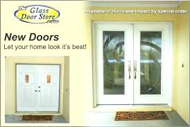hurricane proof front doors impact glass inserts installed in new double with modern design garage home