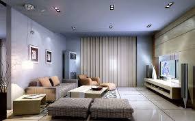 modern living room lighting. modern living room with beautiful lighting