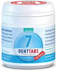 dentifrice denttabs dentifrice tablets stevia mint with fluoride ecco verde