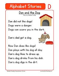 Kindergarten Reading Comprehension Worksheets | Have Fun Teaching
