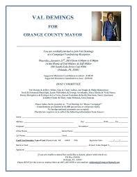 Political Fundraising Invitations Political Fundraiser Invitation Template Bellaroo Co