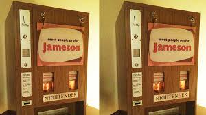 Antique Whiskey Vending Machine For Sale Impressive This Vintage Jameson Whiskey Dispenser Is Just What Your Home Needs