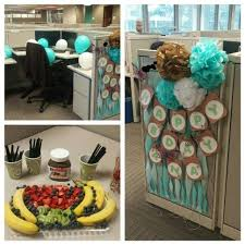 office birthday decorations. 8 gorgeous office cubicle birthday decoration ideas decorations o