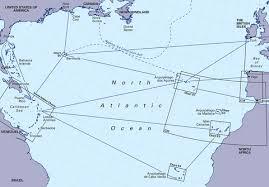 Imray Chart 100 Imray Chart North Atlantic Ocean Passage
