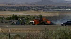 Firefighters Battle Brush Fire Off Highway 395 Near Red Rock ...