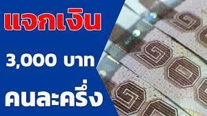 แจกเงิน 3,000 บาท ลงทะเบียนผ่าน www.คนละครึ่ง.com กลางเดือน ต.ค. 63 -  YouTube
