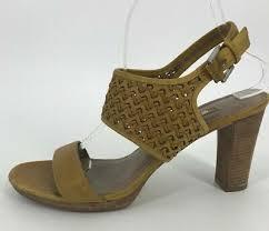 <b>Ecco</b> толстый каблук <b>сандалии</b> Eur 41 открытый носок лодыжки ...