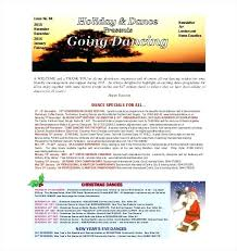 Xmas Newsletter Template Newsletter Templates Free Word Free