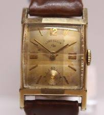lord elgin watch vintage lord elgin 21 jewels 670 manual wind men s wrist watch 14kgf lot 1102