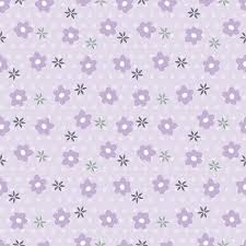 Purple Flowers Backgrounds Flowers Seamless Pattern Purple Floral Background Vector
