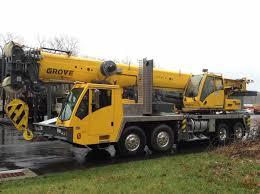 110 Ton Grove Tms9000e Hydraulic Truck Crane