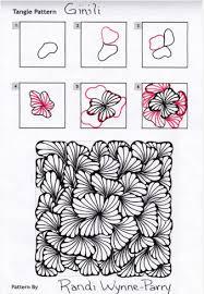 Zentangle Pattern Amazing How to draw Ginili Zening Pinterest Zentangles Doodles