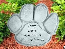personalized garden stones cat memorial stones personalized garden personalized memorial garden stepping stones