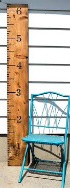 Oversized Ruler Growth Chart Australia Giant Ruler