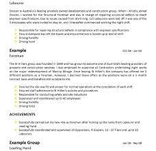 Resume Format For Australia Sarahepps Com