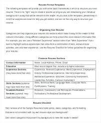 Simple Resume Formate Simple Resume Layouts Resume Basic Format