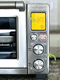 countertop convection oven recipes convection oven convection toaster ovens will automatically select the fan for certain settings to convection oven