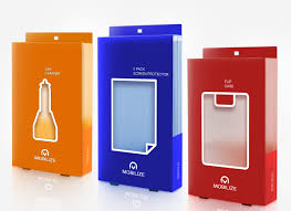 Mobile Charger Packaging Design Modern Professional Plastic Packaging Design For New