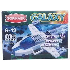 Характеристики модели <b>Конструктор Zormaer</b> Galaxy 58042 ...