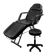 massage table and chair. New Massage Table Bed Chair Beauty Barber Facial Tattoo Salon Equipment Includes Stool And C