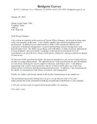 Cover Letters For Admin Assistant Cover Letter For Administrative ...